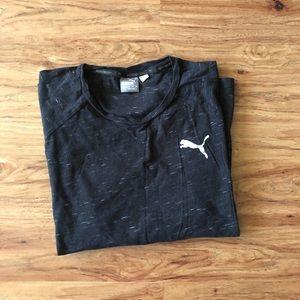 Men's Puma black tee shirt
